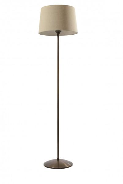 Exceptional Stehleuchte / Standleuchte, Messing Antik Handpatiniert (Altmessing), Höhe  120 Cm, 230 V, E27 60 W